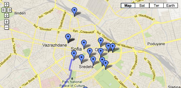 Идеята за карта на букинистите у нас