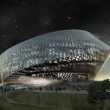 Новата Казахстанска национална библиотека в Астана с космическа архитектура