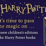 Книгите за Хари Потър с нови корици от есента