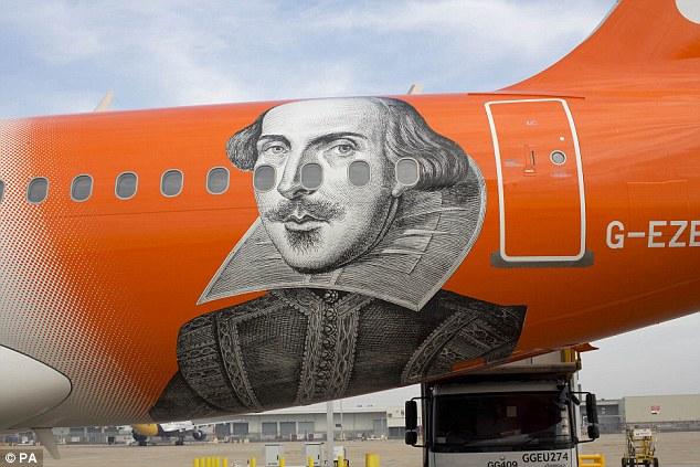 shakespear plane