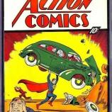 Над 2 млн. долара за първия комикс за Супермен