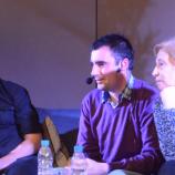 Александър Шпатов, Катя Атанасова и Васил Георгиев на Софийския литературен фестивал (видео)