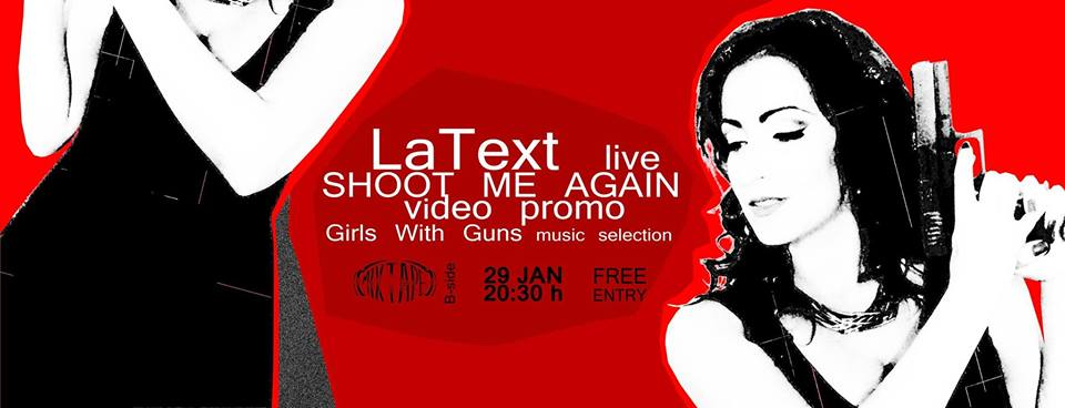 LaText Live & Shoot Me Again Video Promo