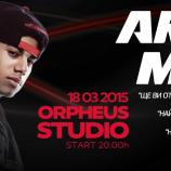 Атрактивният AraabMuzik ще бъде подгряван от българския DJ и бийтмейкър Rawland