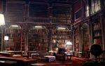 "Bibliotekata na ""Hoguorts"" ot Hari Potar na Dzhoan Rouling"