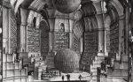 """Vavilonskata biblioteka ot """"Vavilonskata biblioteka"""" na Horhe Luis Borhes"""