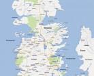 """Фен на """"Песен за огън и лед"""" показва как би изглеждал Вестерос в Google Maps"""
