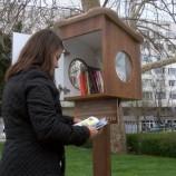 Нови къщички за книги в Асеновград и Бургас