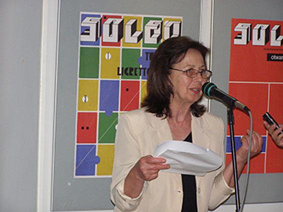 Творческа вечер, посветена на преводачката Вера Деянова