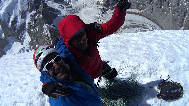 Martin i Viktor na Cerro Torre