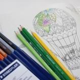 Манията по книгите за оцветяване предизвика недостиг на моливи