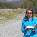 """Четем """"Малки ритуали за сбогуване"""" на Оля Стоянова на близо 4000 метра височина"""