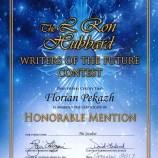 Българин отличен на престижен международен конкурс за къс разказ