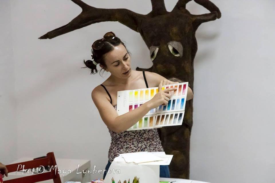 Ромина Беневенти (Италия) в Пловдив