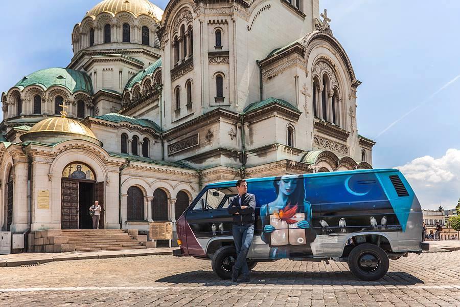 Пловдив чете Думи на 4 гуми
