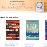 Amazon обяви най-добрите книги за 2017 г. Досега…