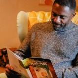Идрис Елба чете приказки за лека нощ в кампания за насърчаване на грамотността