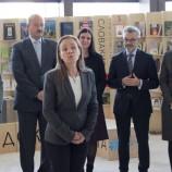 Дипломати от Чехия, Полша, Словакия и Унгария откриха щанда на Вишеградската четворка [галерия]