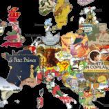 Ученици създават карта на Европа с любими детски книги