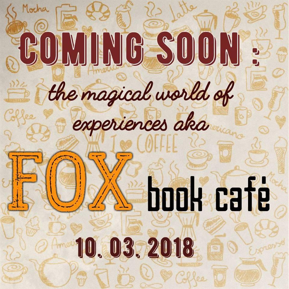 Откриване на FOX book café