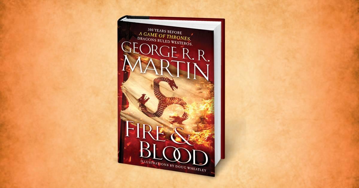 George R. R. Martin Fire & Blood