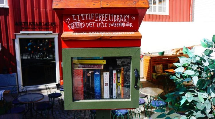 little free library norway