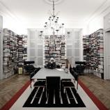 Книжната крепост на Карл Лагерфелд, която съхранява 300 000 тома [галерия]