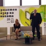 """Татяна Попова представи дебютния си роман """"Чуй щурците"""" в НДК [видео]"""