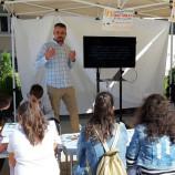 Kontur Creative разказаха във Враца как се прави корица на книга [галерия]