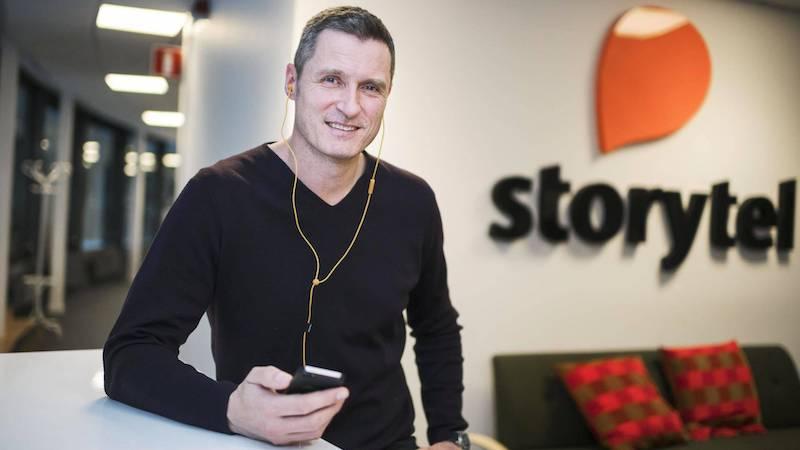 Йонас Теландер, Storytel