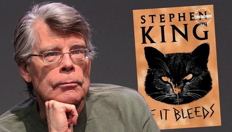 Стивън Кинг чете на живо от новата си книга
