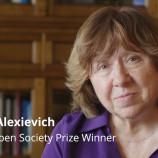 Светлана Алексиевич получи наградата Open Society Prize за 2020 г.