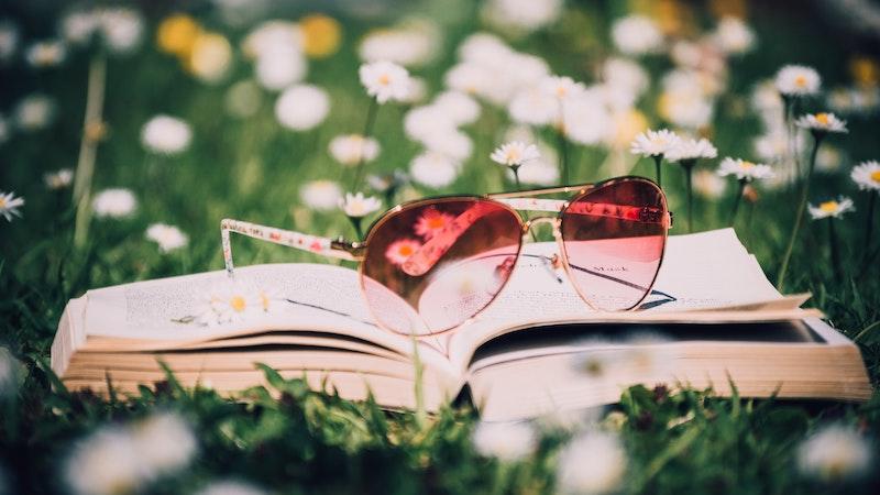 книги лято парк трева
