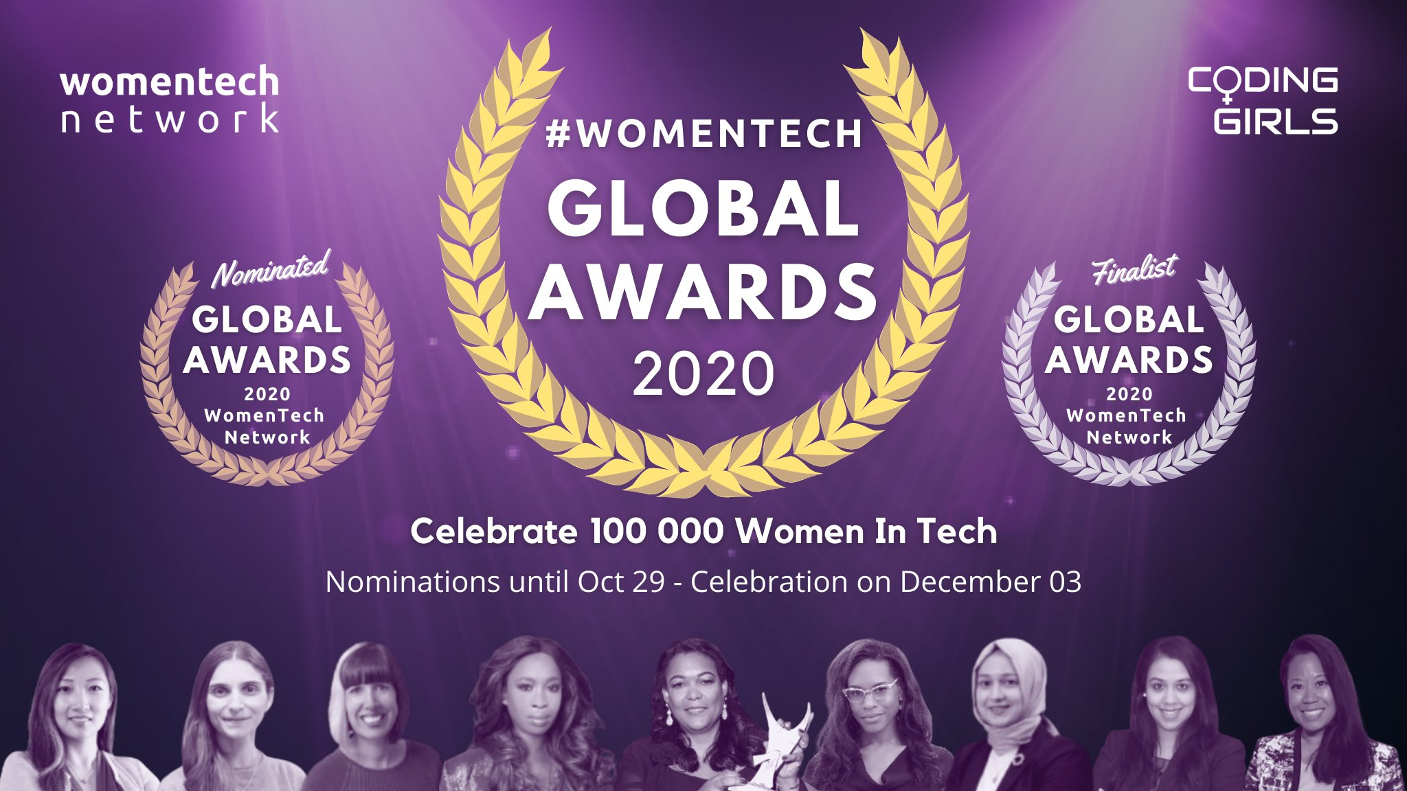 WomenTech Global Awards 2020 online