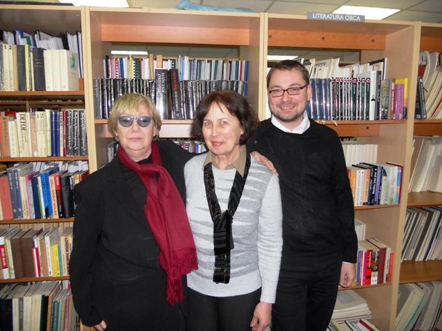 Ewa Lipska, Wera Deqnova, Sebastian Kudas
