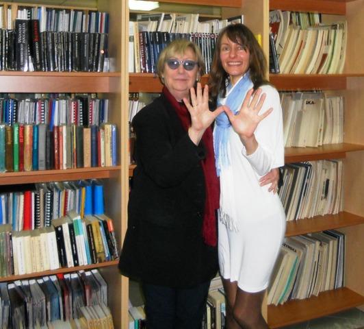 Ewa Lipska i Petrana Petrova