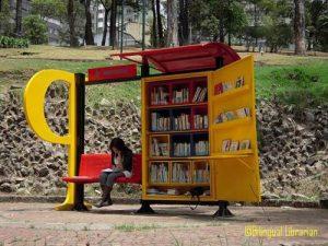 Biblioteka v parka