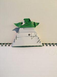Оригами Йода