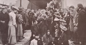 Погребението на Чехов