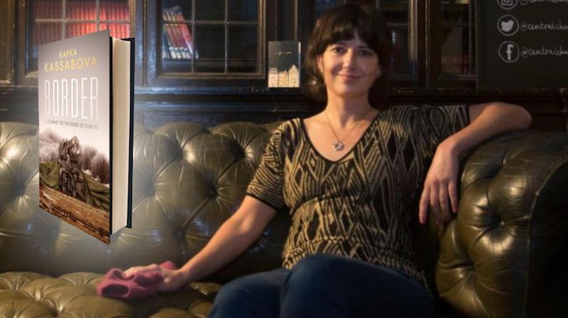 """""""Граница"""" на Капка Касабова стана Книга на годината в Шотландия"""