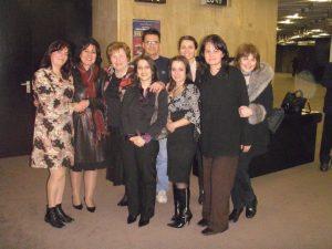 """Екипът на ЕРА заедно с писателката Донка Петрунова на премиерата на книгата й """"Ръкописът на мръсните тайни"""""""