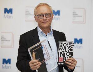 Давид Гросман с отличието за 2017 г.